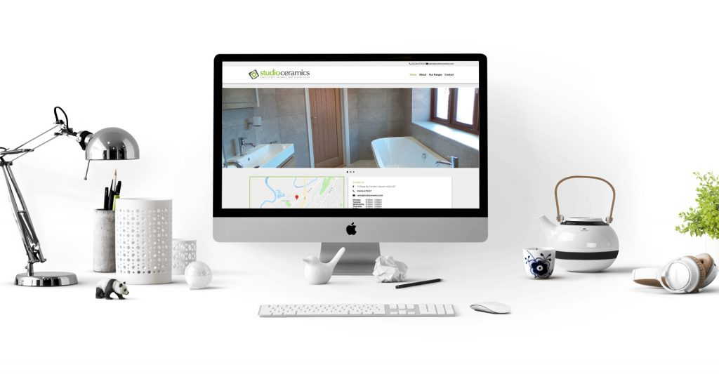 Studio Ceramics Ltd - website designed and developed by Fifteen IT Ltd