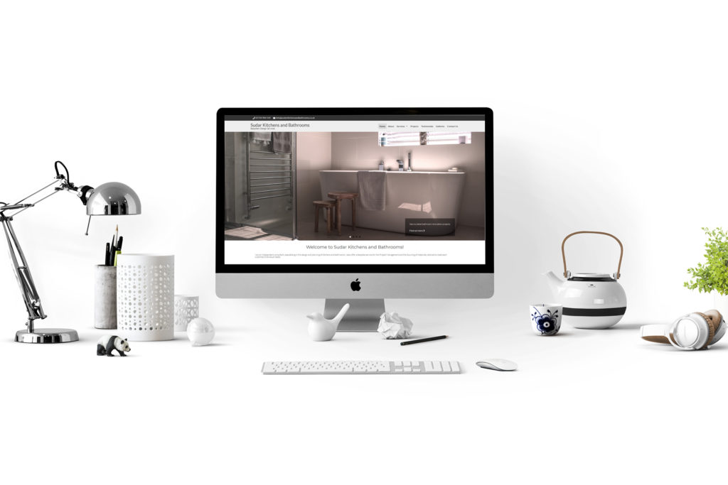 Website design for Sudar Kitchens & Bathrooms Ltd