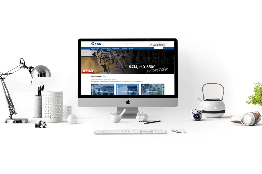 Web Design for Fisher Motor Factors Ltd, Lincolnshire